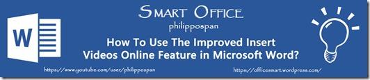 Microsoft Word Blog Banner